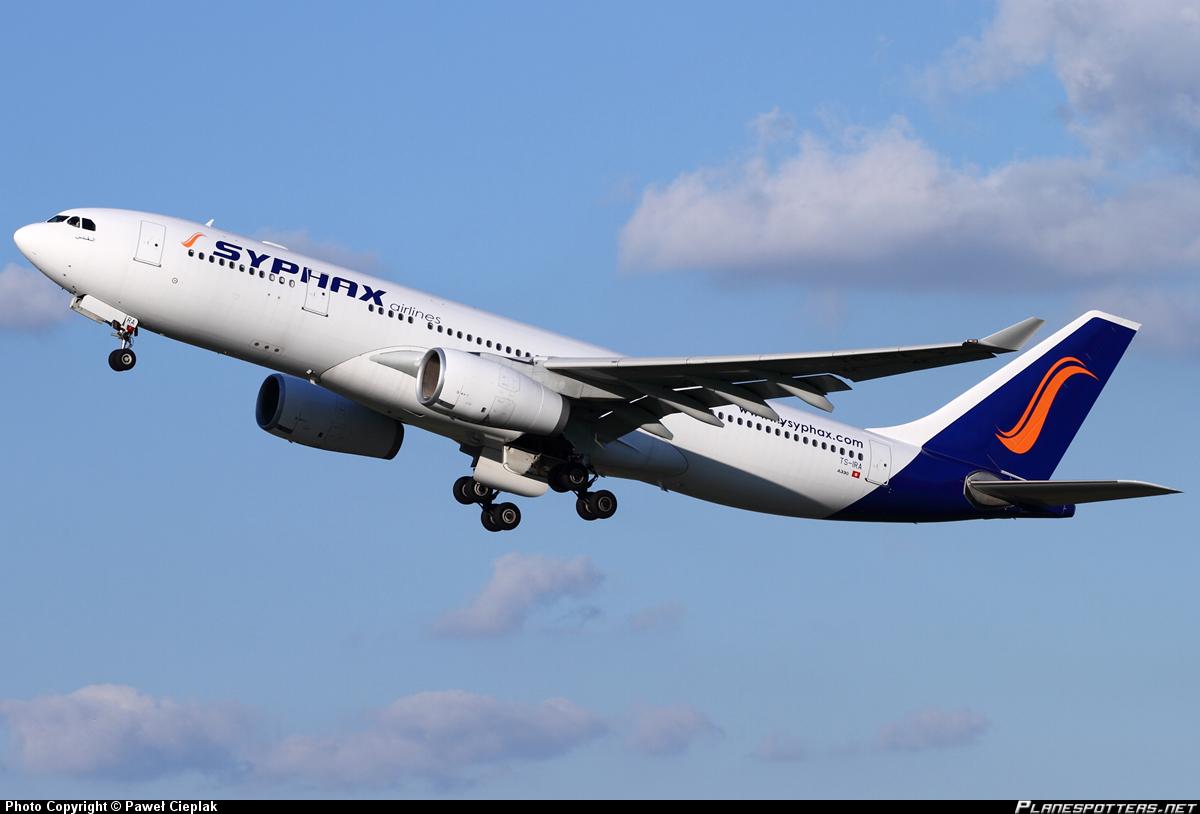Il est peu probable que les Airbus de Syphax Airlines puissent à nouveau sillonner le ciel tunisien. ©Paweł Cieplak