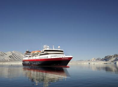 Le nouveau navire d'exploration d'Hurtigruten a un nom : MS Spitsbergen