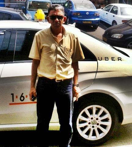 exclusif uber et les taxis font ami ami en terre sainte. Black Bedroom Furniture Sets. Home Design Ideas
