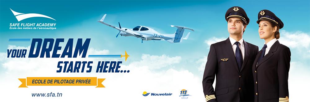 Tunisie : Safe Flight Academy en partenariat avec Aeropyrenees Flight Center