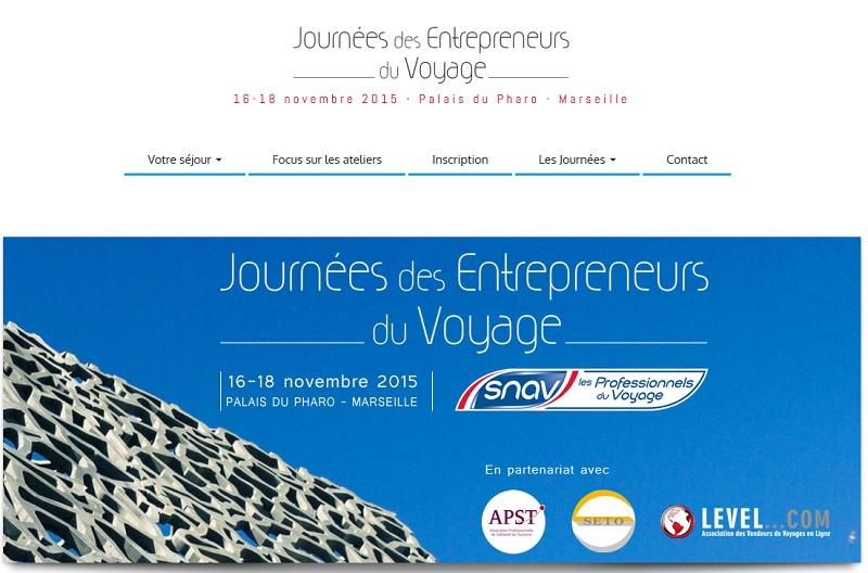 Journées des Entrepreneurs du Voyage du SNAV : demandez le programme !