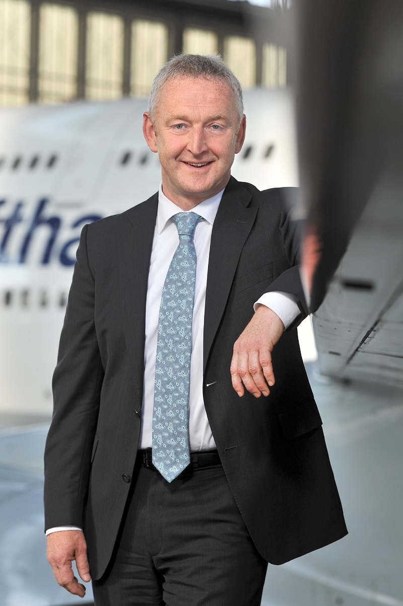 Thomas Klühr, nouveau CEO de Swiss en février 2016 - DR : Jürgen Mai  / Lufthansa Group