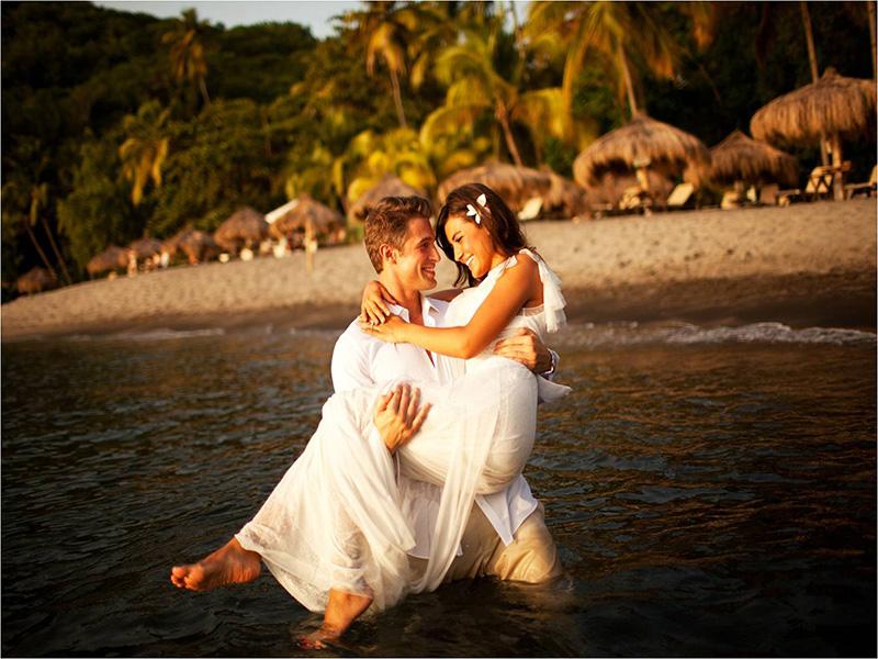 Sainte-Lucie : voyages de noces et mariages