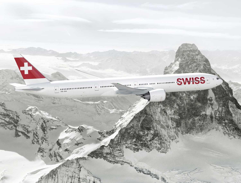 La compagnie Swiss a commandé neuf Boeing 777 pour renouveler sa flotte long courrier. DR Swiss.