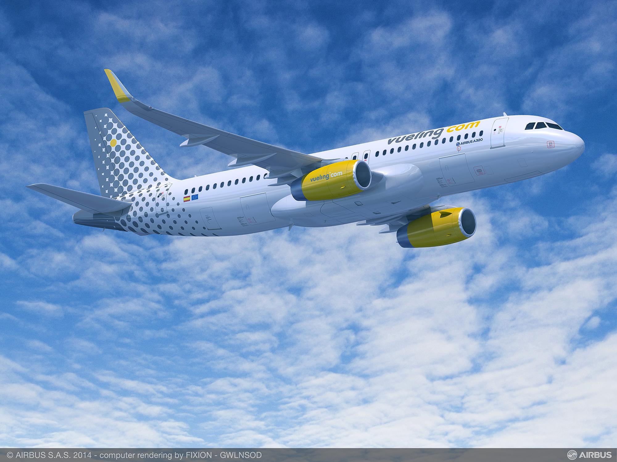 Vueling va positionner deux A320 à Charles de Gaulle pour opérer plus de lignes - DR : Airbus