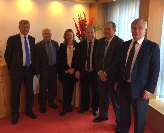 Joël Darnaud, Richard Livet, Krystel Blondeau, Thierry Amirault, Martial Rozier et Jean-Pierre Orcil - Photo : Logis