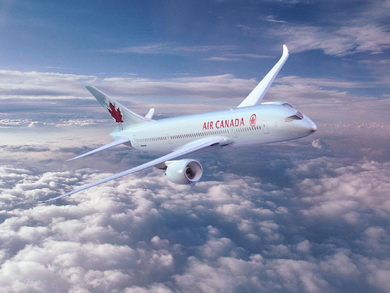 Le nouveau Boeing 787 d'Air Canada opèrera la ligne Paris Toronto en octobre prochain. DR Air Canada.