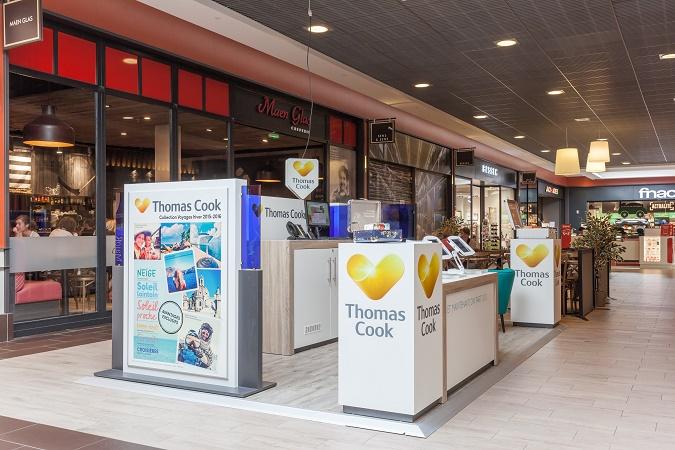 Les pop-up stores de Thomas Cook font leur retour cette année - Photo : Thomas Cook