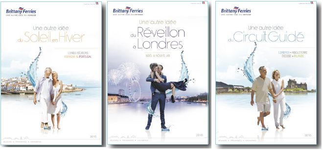Brittany sort 3 nouvelles brochures pour 2016 - DR : Brittany Ferries