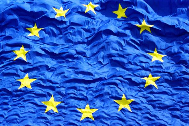 Photo European flag Commission Européenne