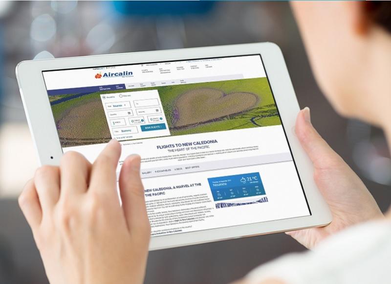 Air Calin lance un nouveau site web