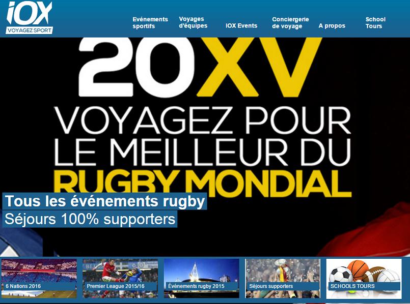 Le tribunal de commerce de Lyon vient de placer IOX Tour en liquidation judiciaire - Capture d'écran