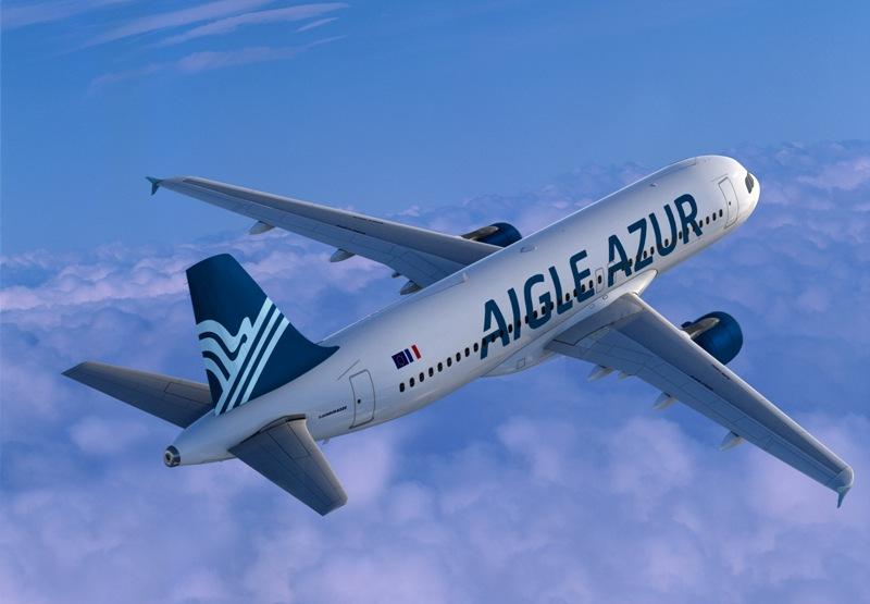 Les A320 d'Aigle Azur voleront plus vers l'Algérie et vers le Portugal. DR-Aigle Azur.