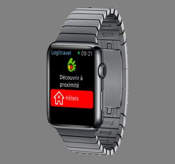 L'application Logitravel sur l'App Store inclut désormais des fonctionnalités pour l'Apple Watch (c) Logitravel