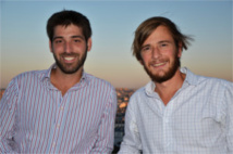 Thomas Faisant and Renaud Moulas, founders of the website © Prochaine Escale