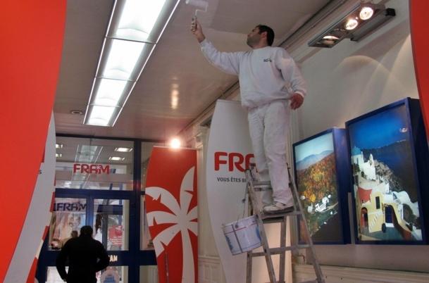Voyages Fram prêt pour un ravalement de façade des murs au plafond ? /photo JDL