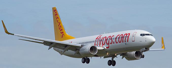 Pegasus brade ses billets pour l'Hiver 2015/2016 - Photo : Pegasus Airlines