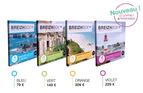 Bretagne : 196 séjours dans l'édition 2016 des Breizhbox