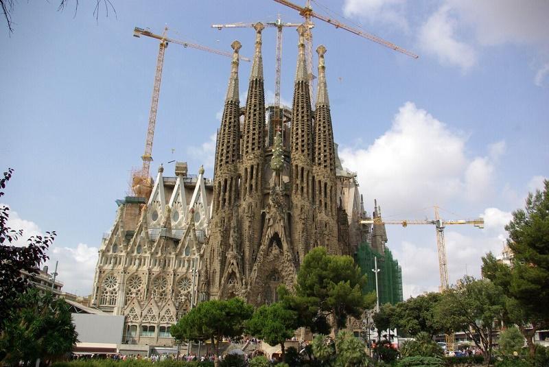 Quarante trois ans. Gaudí aura consacré ce temps de sa vie à réaliser cette basilique unique au monde - DR : J-F.R.