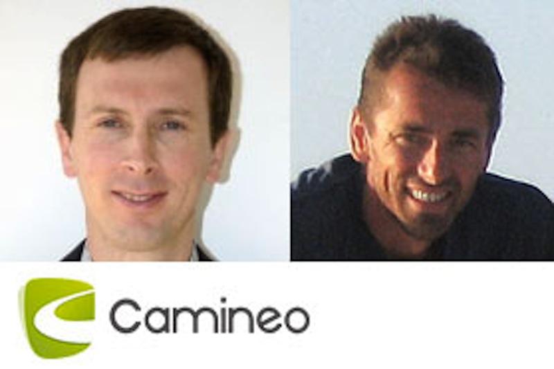 Christophe Rhin (à gauche), CEO de Camineo. Jean-Philippe Cluset (à droite), Conseil en communication et Bizdev (ex-COO de Camineo) - DR