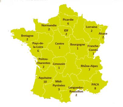 Les nouveaux adhérents à la FIL en France - DR : Logis