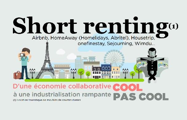 """Economie collaborative : l'UMIH dénonce """"l'industrialisation rampante du phénomène"""" à Paris"""