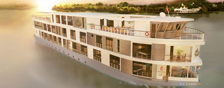 54 passagers voyageront à bord du navire de The Strand Cruises lors de deux croisières inaugurales - DR