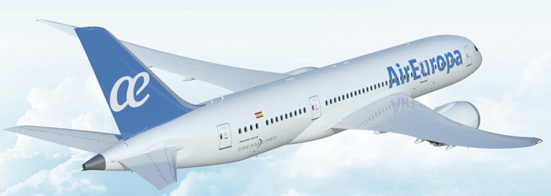 Air Europa redécore ses avions avec sa nouvelle identité visuelle - DR : Air Europa