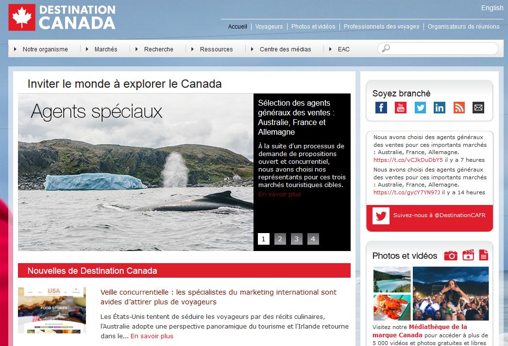France : Destination Canada renouvelle le mandat de Tourisme Synergique