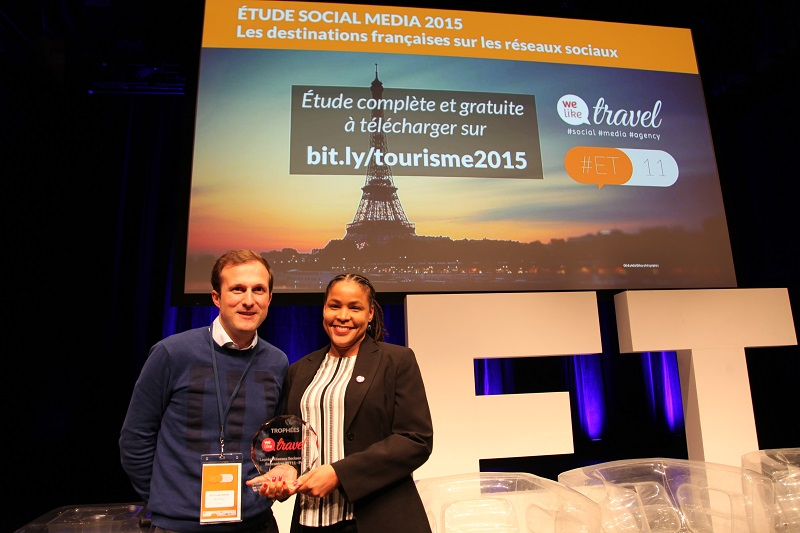 """Les îles de Guadeloupe ont une nouvelle fois remporté le prix Social Média """"régions"""" - (c) i-tourisme"""