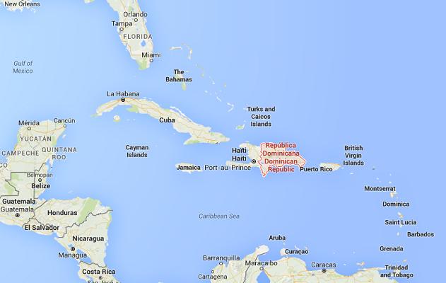 Les deux pilotes condamnés pour trafic de drogue se sont échappés de la République Dominicaine - DR : Google Maps