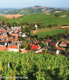 Les Collines du Sancerrois, le Piton de Sancerre et ses caves candidats au Patrimoine Mondial