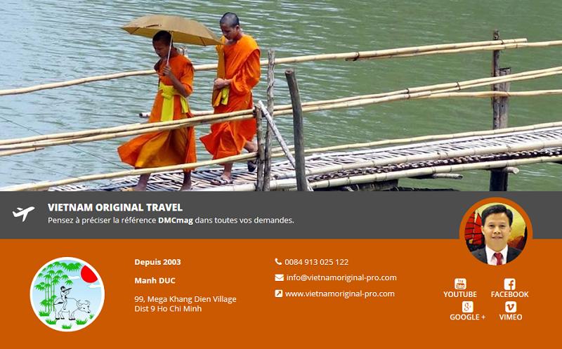 Vietnam Original Travel fait ses premiers pas sur DMCMag.com