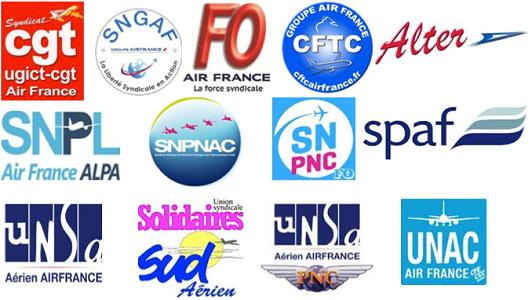 Air France : les syndicats appellent à une nouvelle grève le 19 novembre 2015