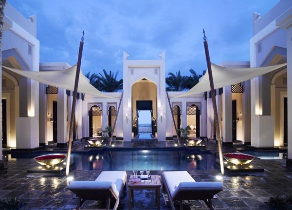 L'une des Royal Pool Villa du Banyan Tree Bahreïn
