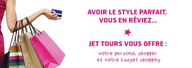 """""""Personal shopper"""" : Jet tours lance un challenge de ventes sur la production Été 2016"""