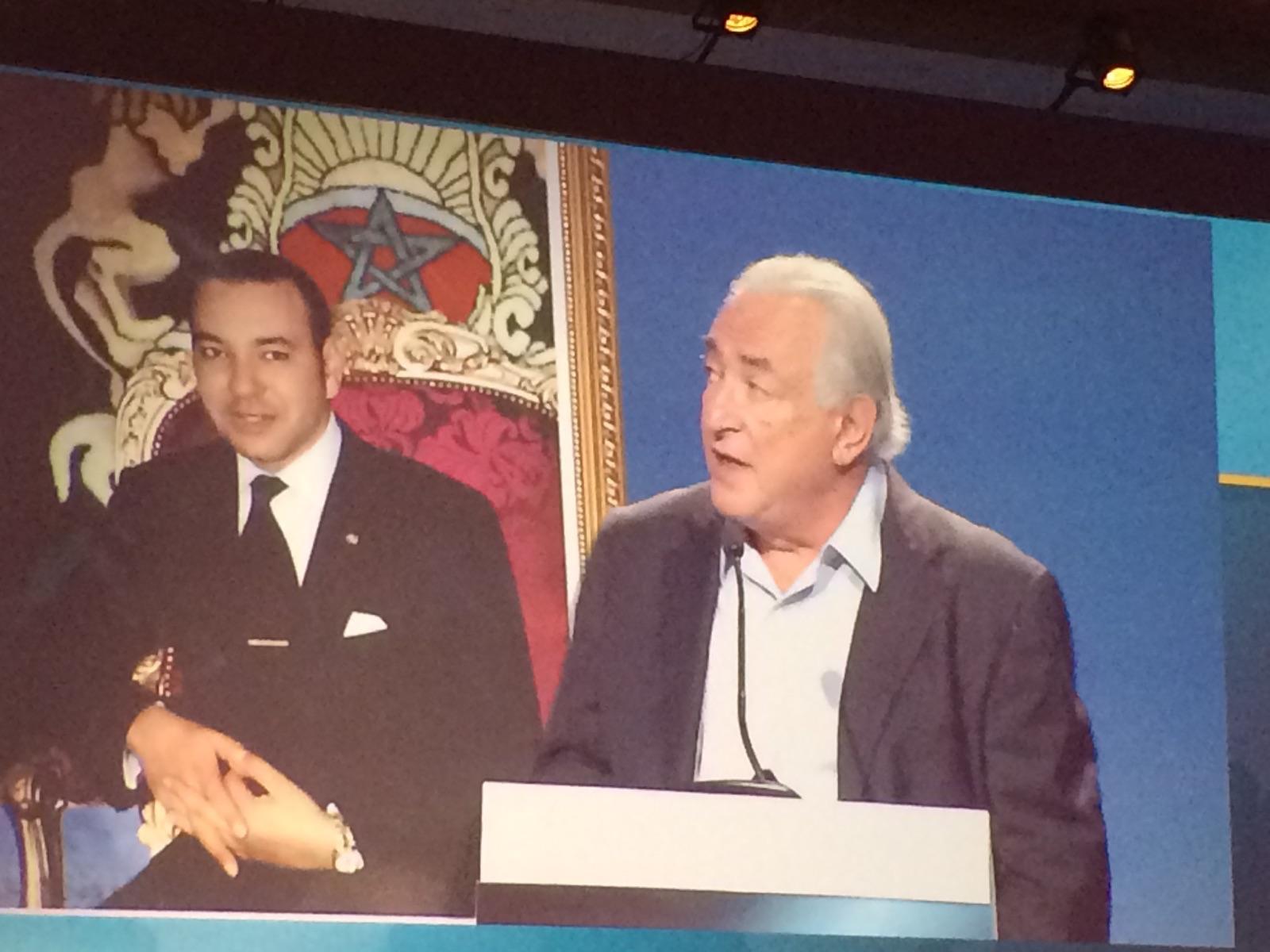 Dominique Strauss Khan est très enthousiaste sur l'avenir du transport aérien. DR-LAC