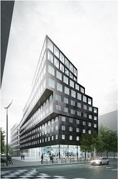 Le complexe accueillera un hôtel de 185 chambres et le nouveau siège de la SEH - Photo : SEH