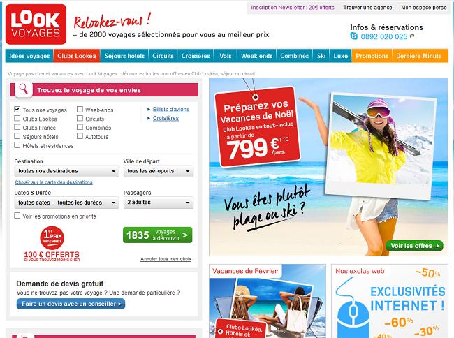 Vacances Transat et Look Voyages ouvrent une partie des ventes été !!