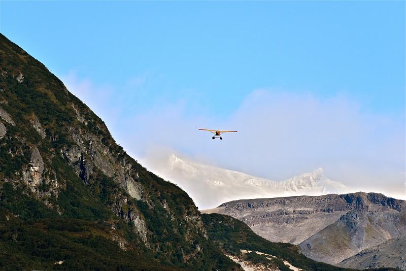 Paysage et glacier d'Alaska - Photo CP