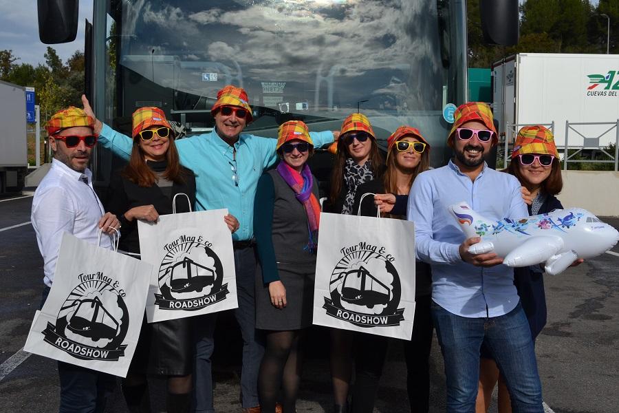 Les partenaires du TourMaG&Co Roadshow débarquent en Corse ! - Photo : M.C.