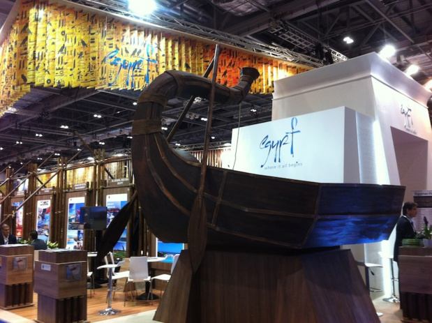 Egypt's new stand wants to boost the Nile's spot. DR - LAC