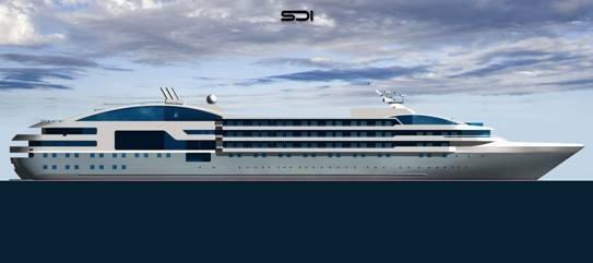 Compagnie des Iles du Ponant : CMA CGM commande deux yachts de luxe
