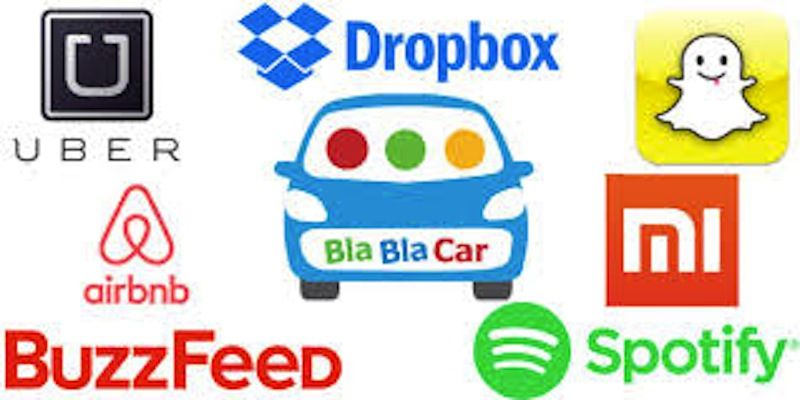 Uber, Airbnb, Blablacar : des start-ups très valorisées - DR