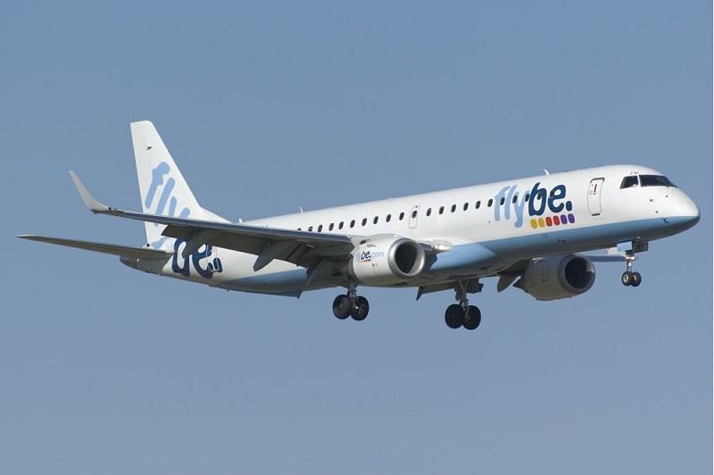Flybe Embraer E195 - DR