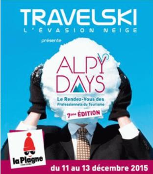 AlpyDays : Locatour invite 100 agents de voyages et 50 CE à la Plagne