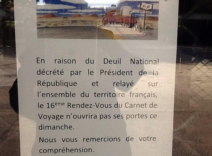 """Clermont-Ferrand : le """"Rendez-vous du Carnet de voyage"""" victime du terrorisme pour la 2e fois"""
