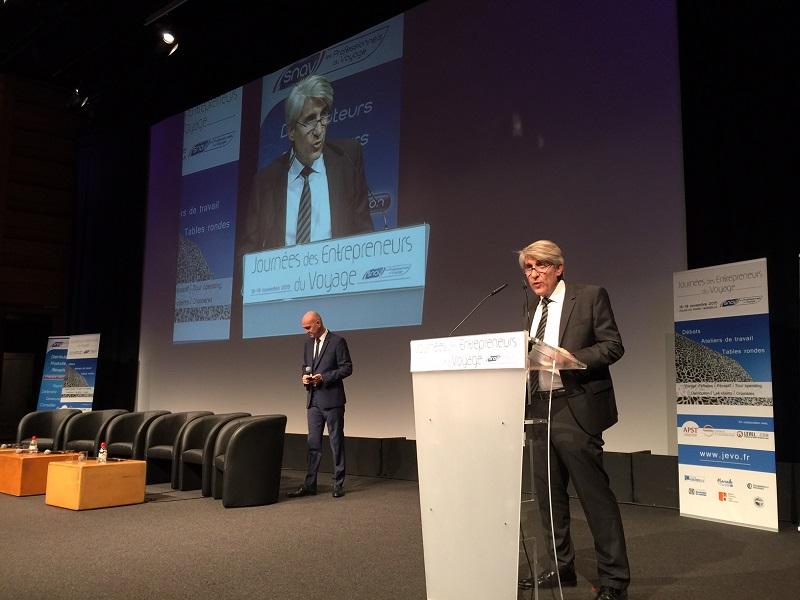 """Congrès du SNAV : """"Le tourisme sera bousculé"""", selon L. Salemi (Live)"""