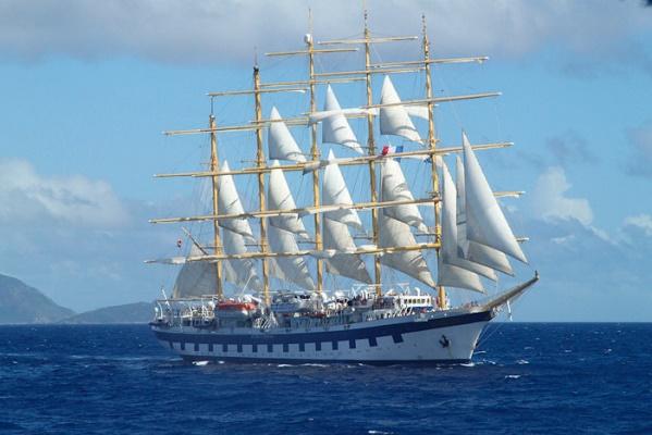 Le navire de Star Clippers assurera la croisière-club de Jet tours dans les îles grecques - Photo : Jet tours et Star Clippers