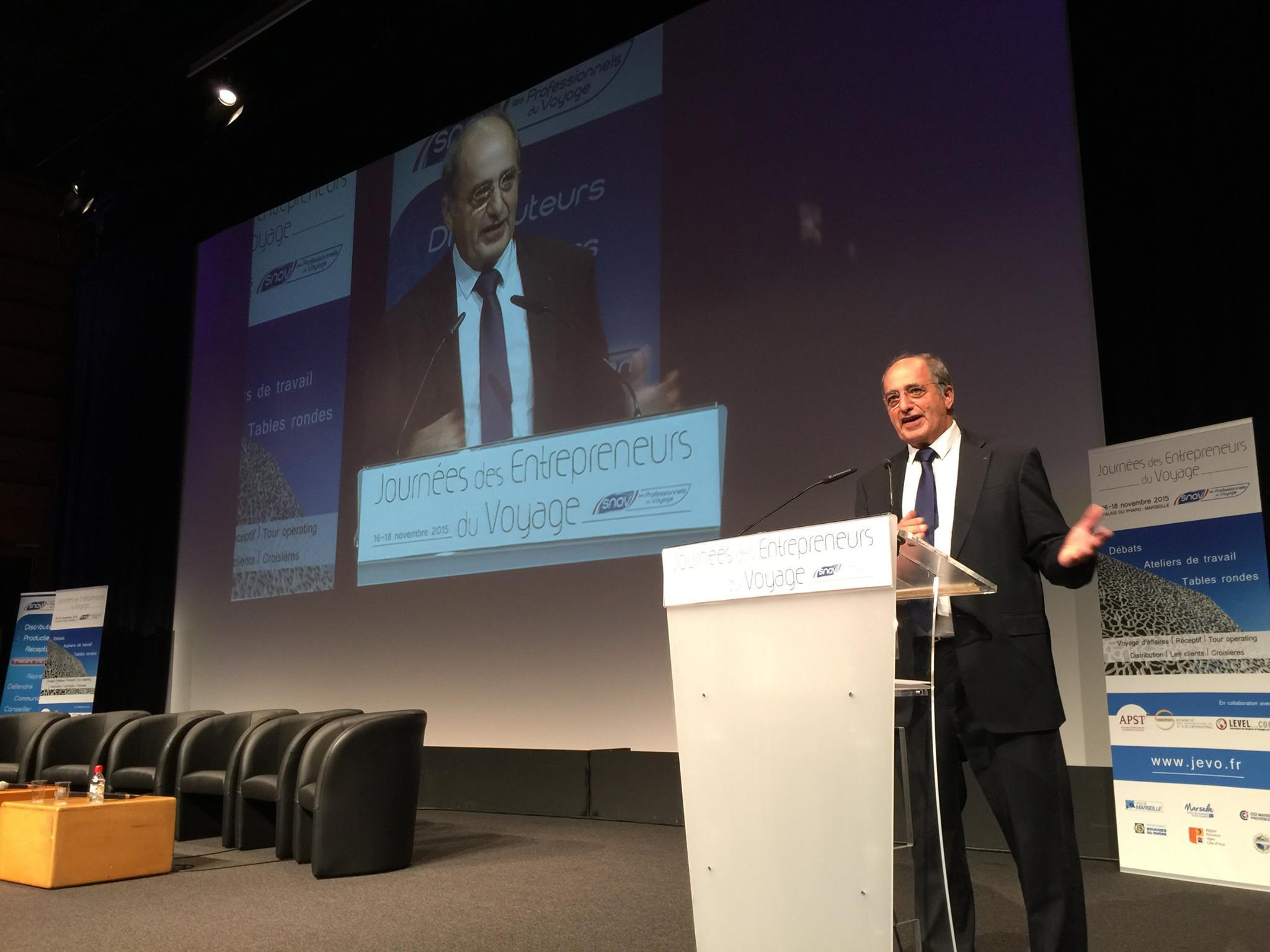 """Congrès du SNAV :  """"Notre monde vit des bouleversements considérables"""", selon J.-P. Mas (live)"""